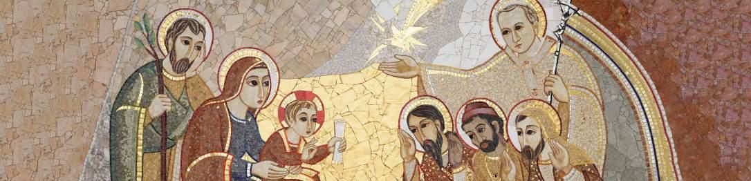Church Mosaic JP2 Shrine